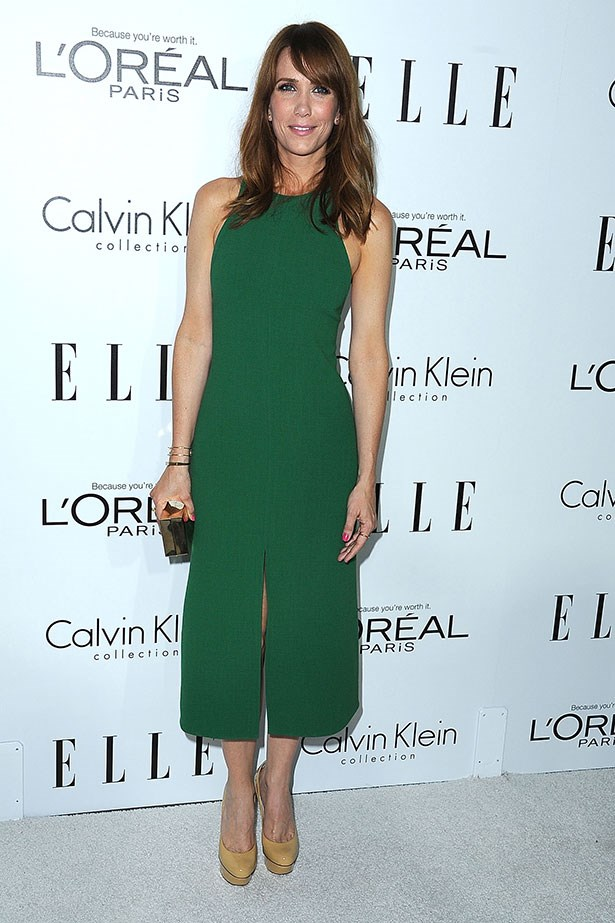 We love Kristen Wiig's sense of humour and classic style