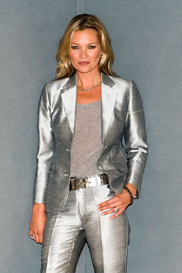Supermodel Kate Moss always gets it right