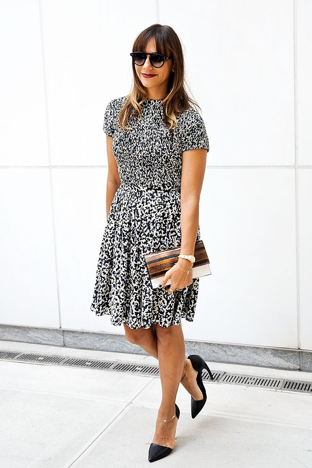 Rashida Jones' outfits are always unique and playful