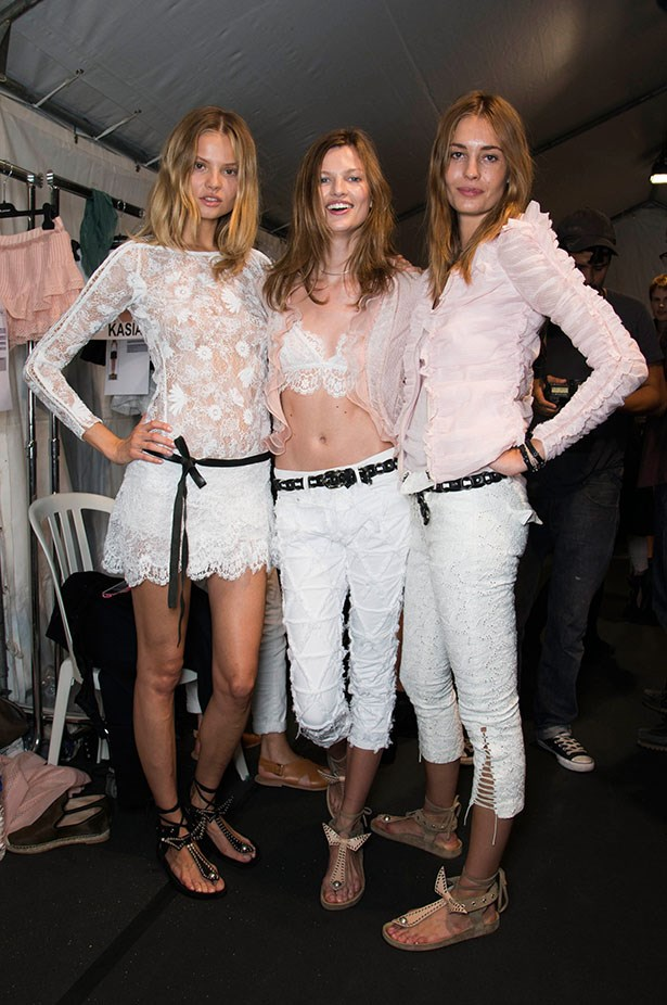 <p>We're thankful for… the return of the functional flat. Our toes are praising Isabel Marant.</p> <p>Isabel Marant SS14</P>