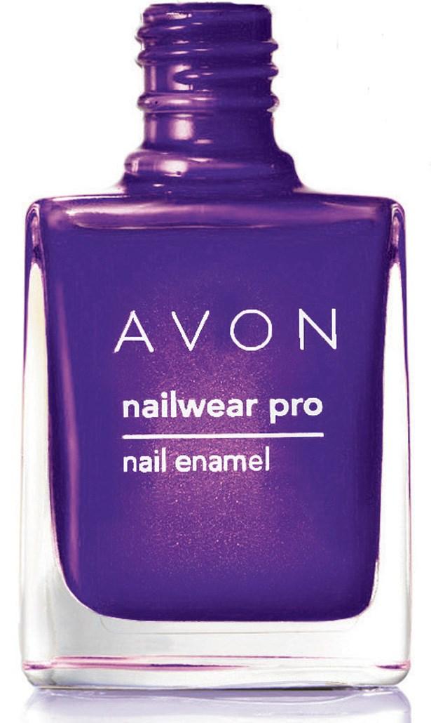 Nailwear Pro Intense Brights Nail Enamel in Vivid Violet, $12.99, Avon, 1800 646 000
