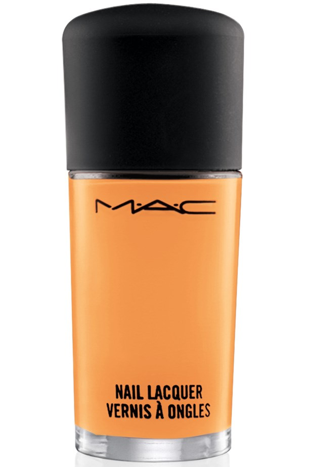 All About Orange Nail Lacquer, $22, M.A.C, 1800 613 828