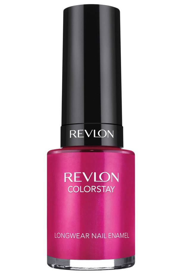 ColorStay Longwear Nail Enamel in Rich Raspberry, $16.95, Revlon, 1800 025 488