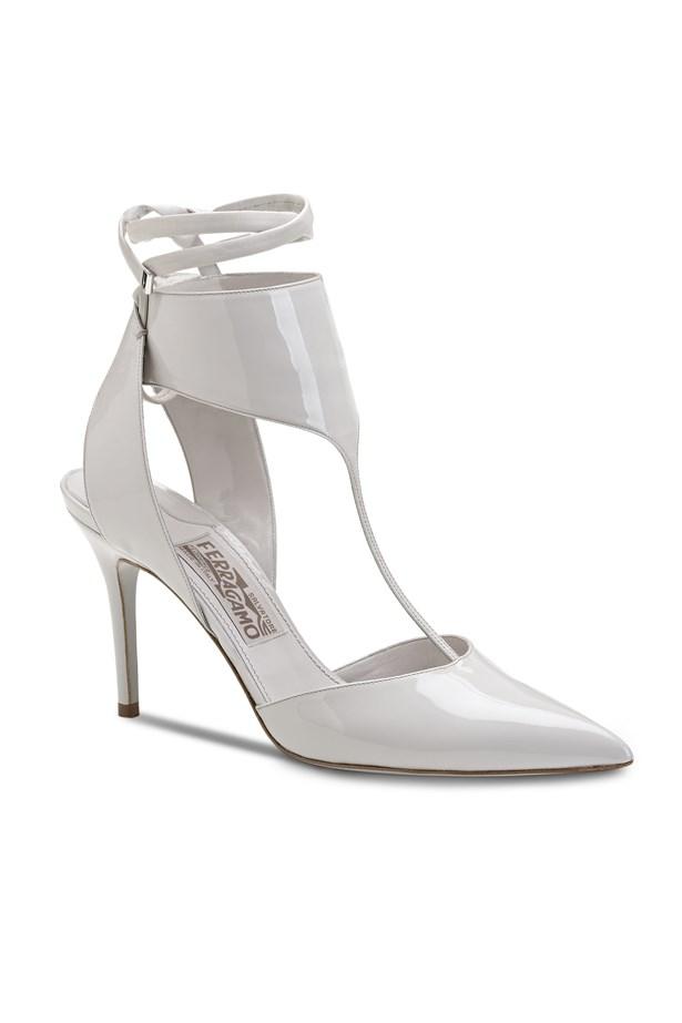 """Heels, $870, Salvatore Ferragamo, <a href=""""http://www.ferragamo.com"""">ferragamo.com</a>"""