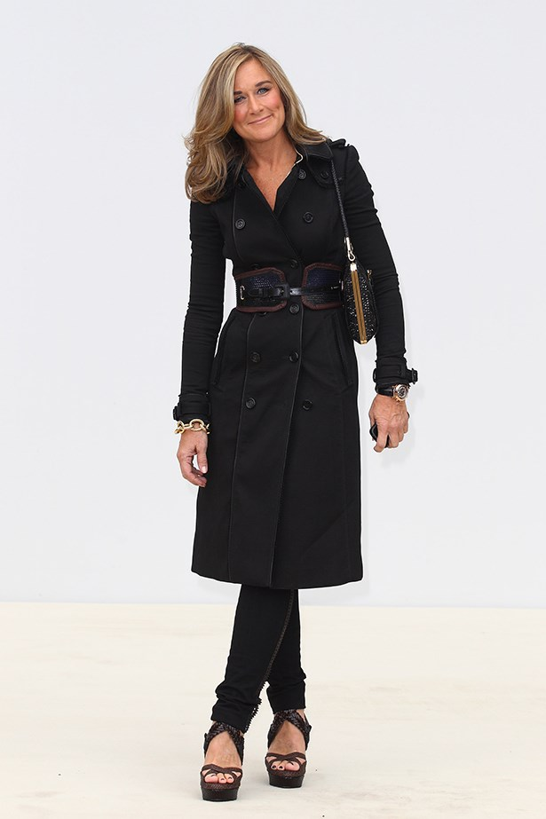 <strong>October</strong>: Angela Ahrendts leaves her position as CEO as Burberry and moves to Apple.