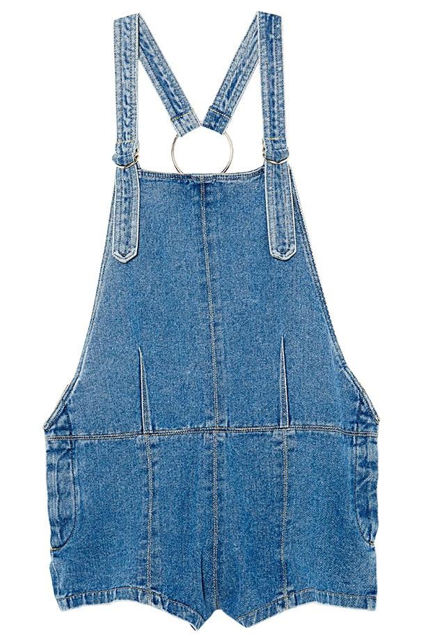 "Denim overalls, $179, Friend Of Mine, <a href=""http://www.friendofmine.com.au/shop/index.php"">friendofmine.com.au</a>"