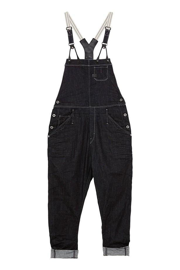 "Denim overalls, $270, G Star, <a href=""http://shop.g-star.com/index-gstarau-au-Site-WFS-en_AU-AUD.html"">g-starstore.com.au</a>"