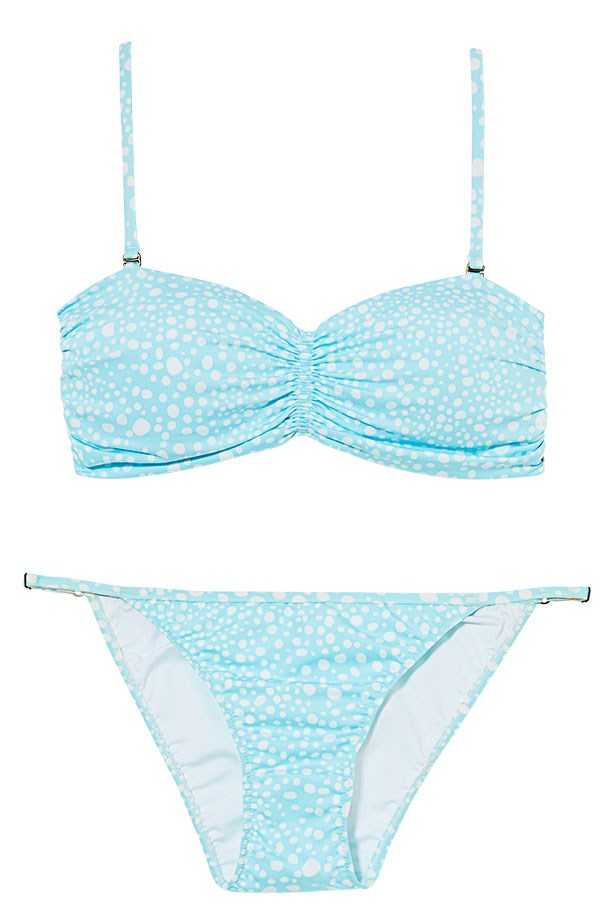"<p>Beach club: sweeten your swim with sorbet shades</p> <p>Bikini top, $80, bottoms, $50, Speedo, <a href=""http://www.speedo.com.au"">speedo.com.au</a></p>"