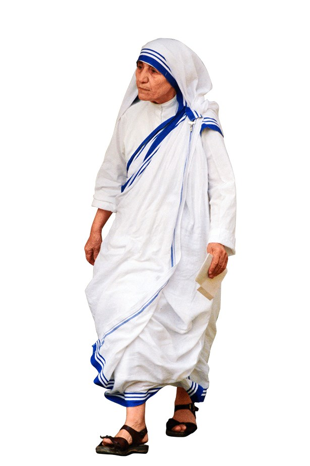 <p>From the divine to the exalted, behind (or beneath) every high-achiever is a pair of sturdy sandals.</p> <p>Mother Teresa</p>