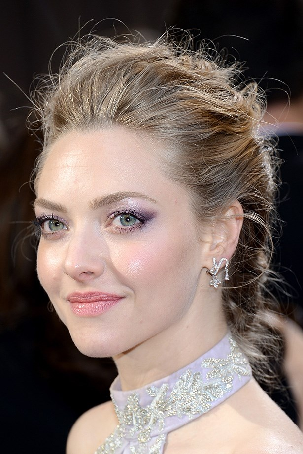 Seyfried's lilac ombre eyeshadow complemented her dress perfectly at this year's 85th Annual Oscars.