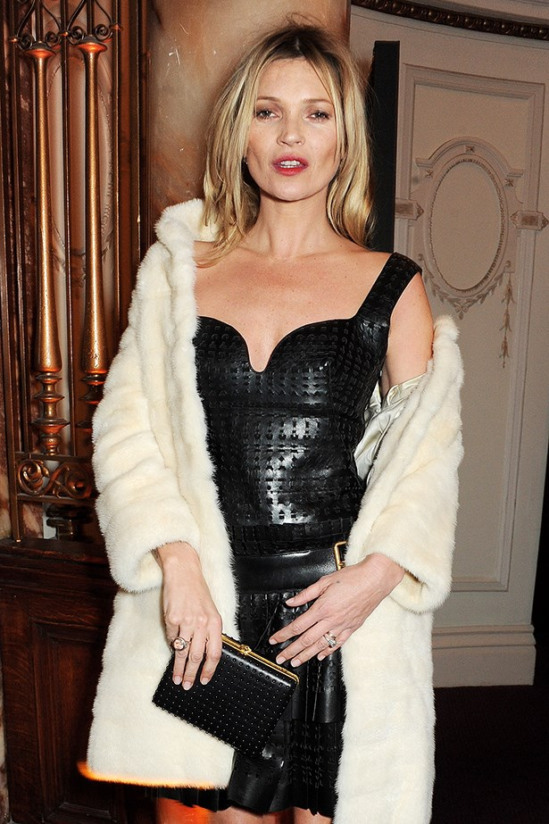 Supermodel Kate Moss collected her Special Recognition Award.