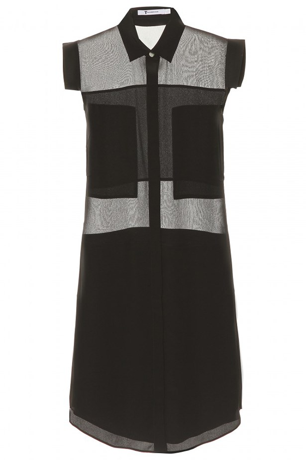 "<p>Dress, $498, T By Alexander Wang, <a href=""http://www.mytheresa.com "">mytheresa.com </a></p>"