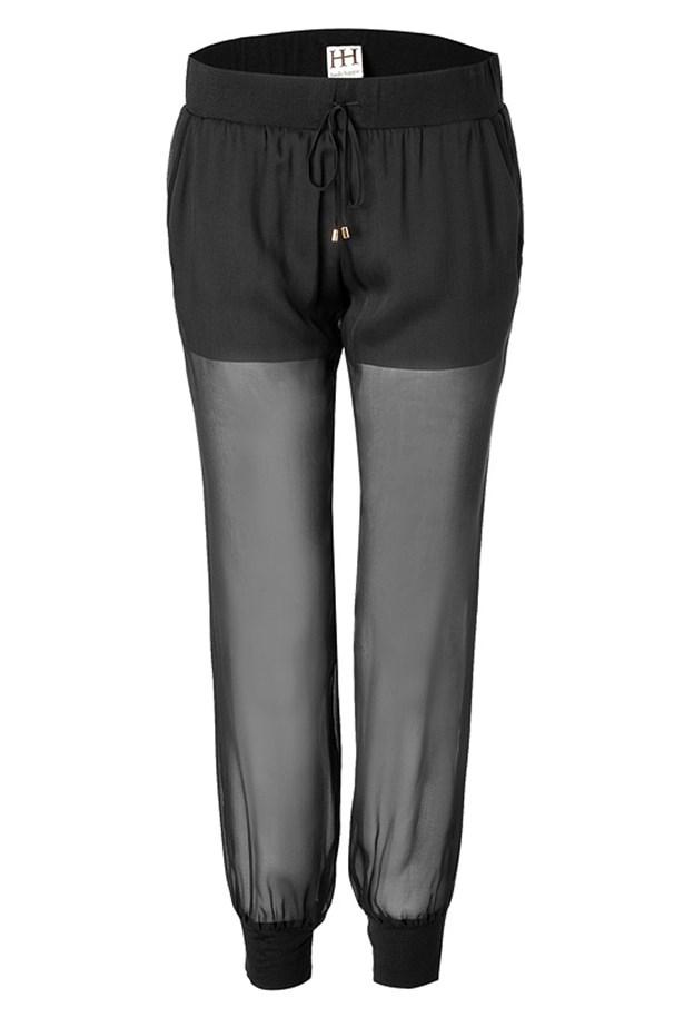 "<p>Pants, $257, Haute Hippie,<a href=""http://www.stylebop.com ""> stylebop.com </a></p>"