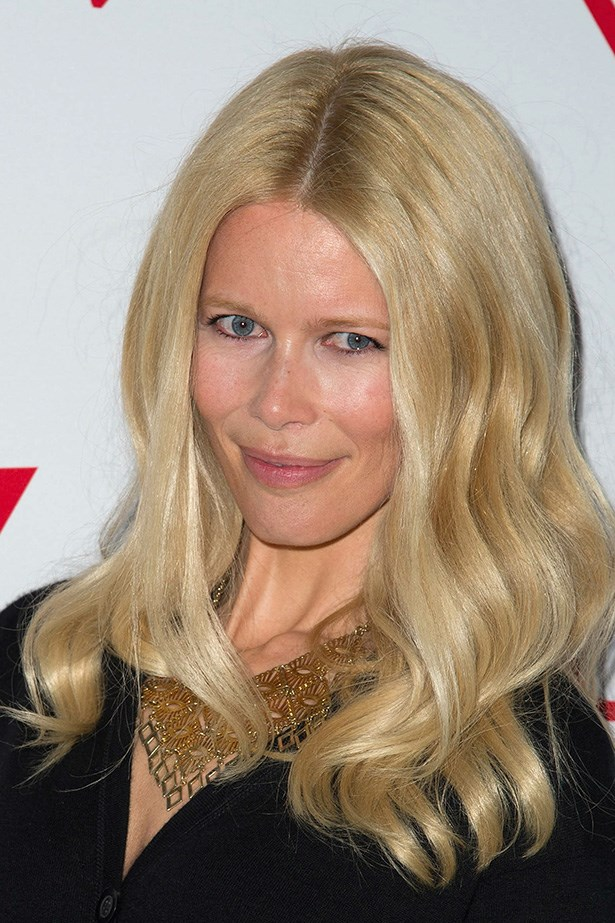 Elizabeth Arden fan, and supermodel, Claudia Schiffer.