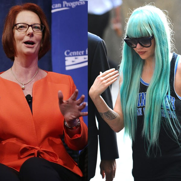 <strong>Number eight</strong><br> Australia: Julia Gillard<br> Rest of the world: Amanda Bynes