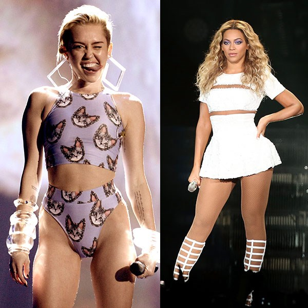 <strong>Number one</strong><br> Australia: Miley Cyrus<br> Rest of the world: Beyonce