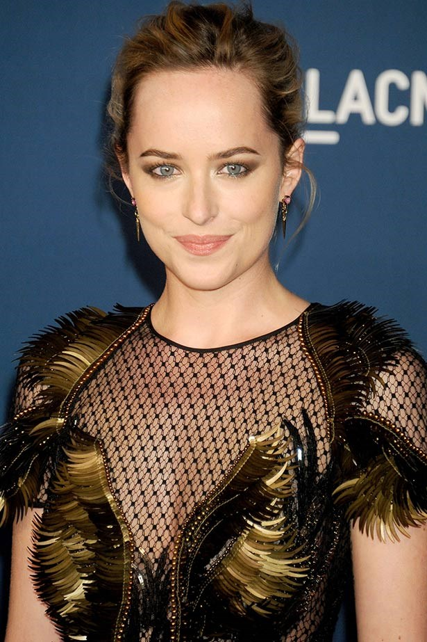 <strong>Dakota Johnson</strong><br> The 24-year-old has been cast as Anastasia Steele in the film adaptation of steamy novel <em>Fifty Shades of Grey</em> thanks to her coquettish mannerisms, which we reckon she picked up from mum Melanie Griffith.