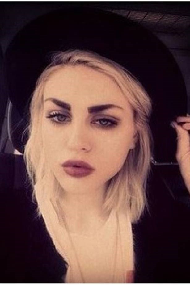 <strong>Frances Bean Cobain</strong><br> The 21-year-old was born into rock royalty as the only daughter of Nirvana's Kurt Cobain and Courtney Love. We can see both of them in her.