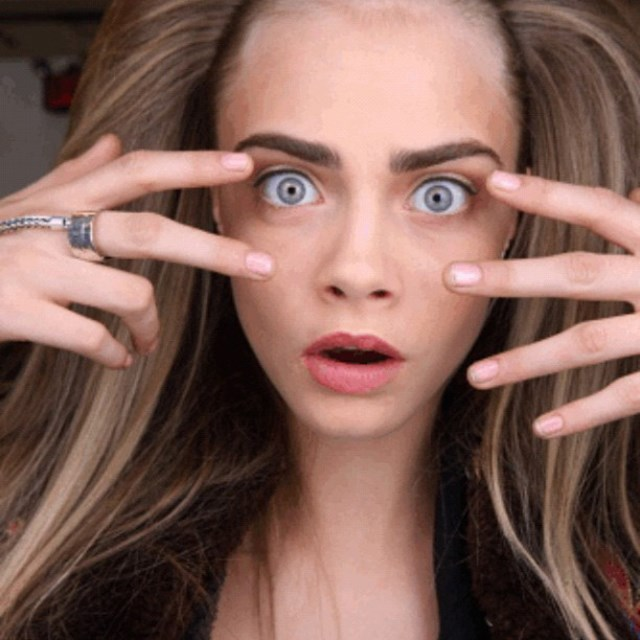 """<p><strong>4. She refuses to pluck</strong></p> <p>The key to Cara's famous brows?  """"Don't pluck them. It's really simple.""""</p> <p>@caradelevingnestyle</p>"""