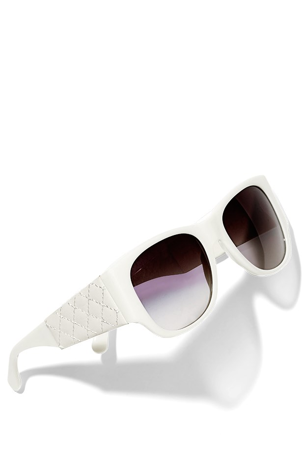 Sunglasses, $615, Chanel, 1300 242 635