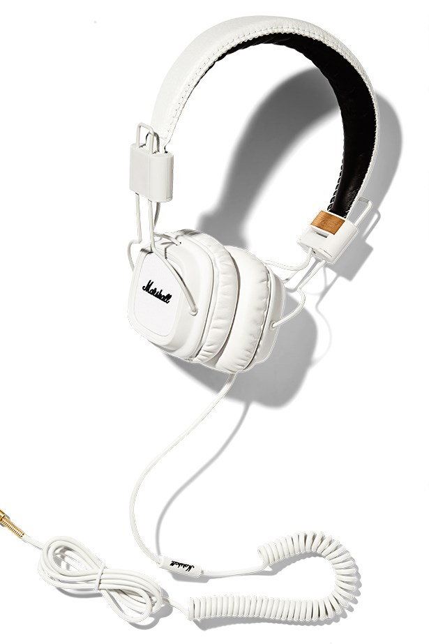 "Headphones, $180, Marshall, <a href=""http://www.myer.com.au"">myer.com.au</a>"