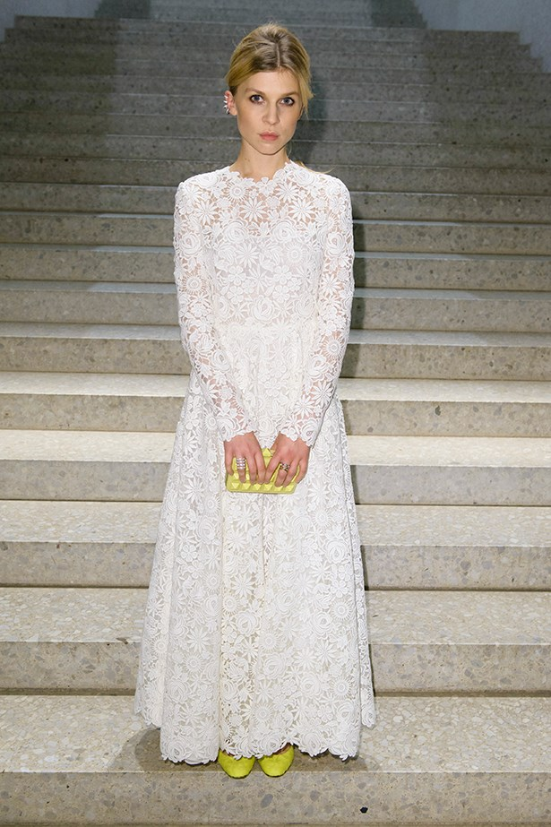 Clemence Poesy in Valentino