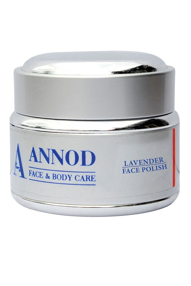 Lavender Face Polisher, $47, Annod, annod.com.au With French lavender oil and almond meal, this product is hydrating and helps combat discoloration.