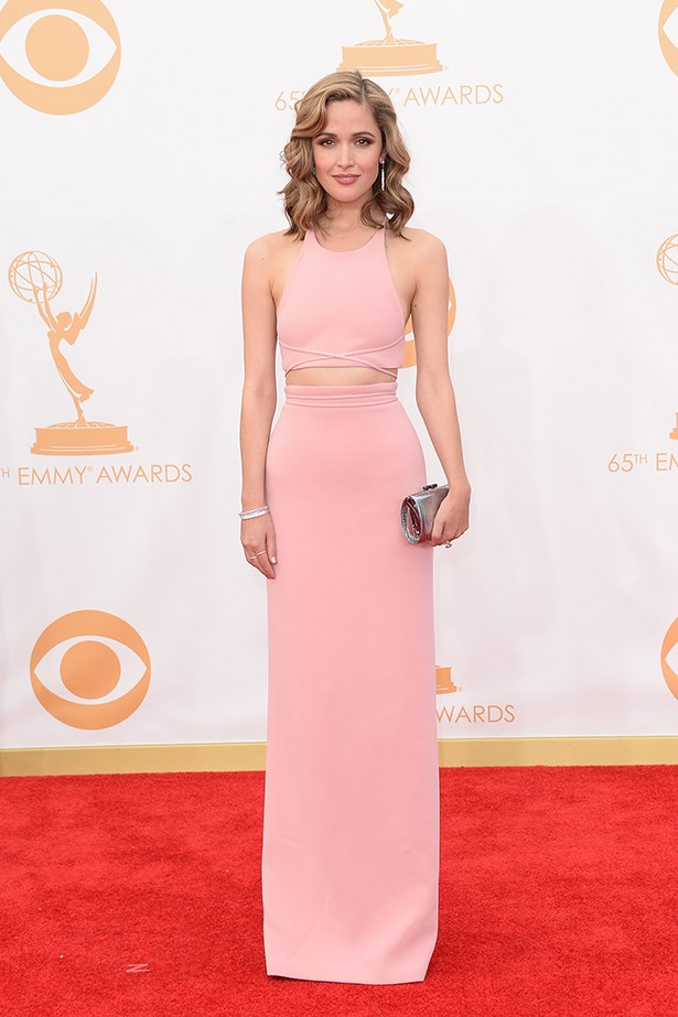 Rose Byrne in custom Calvin Klein