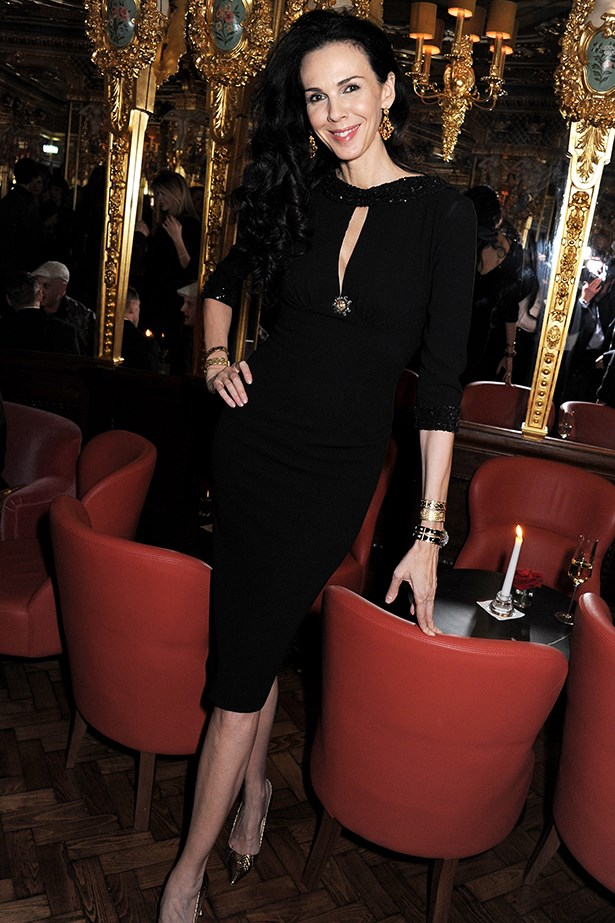 <p><strong>Black</strong></p> L'Wren Scott in her own designs