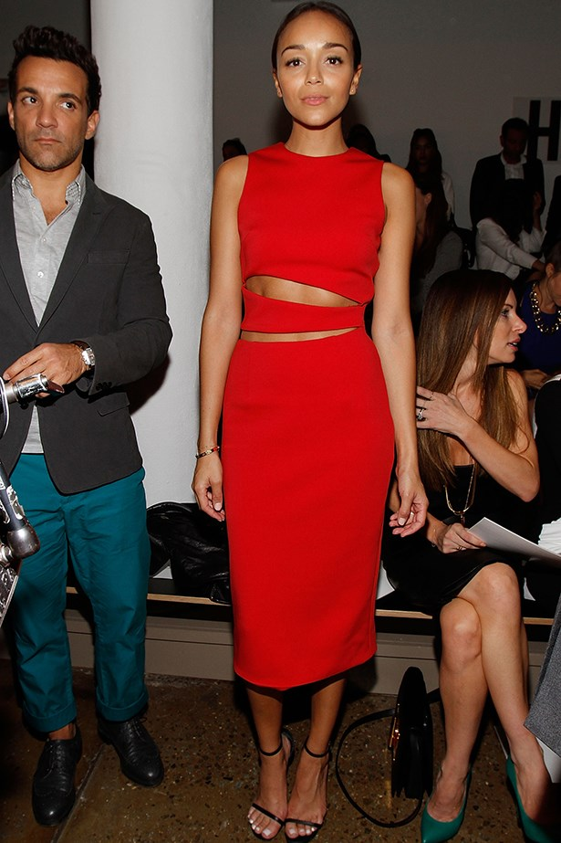 Ashley Madekwe in Cushnie et Ochs