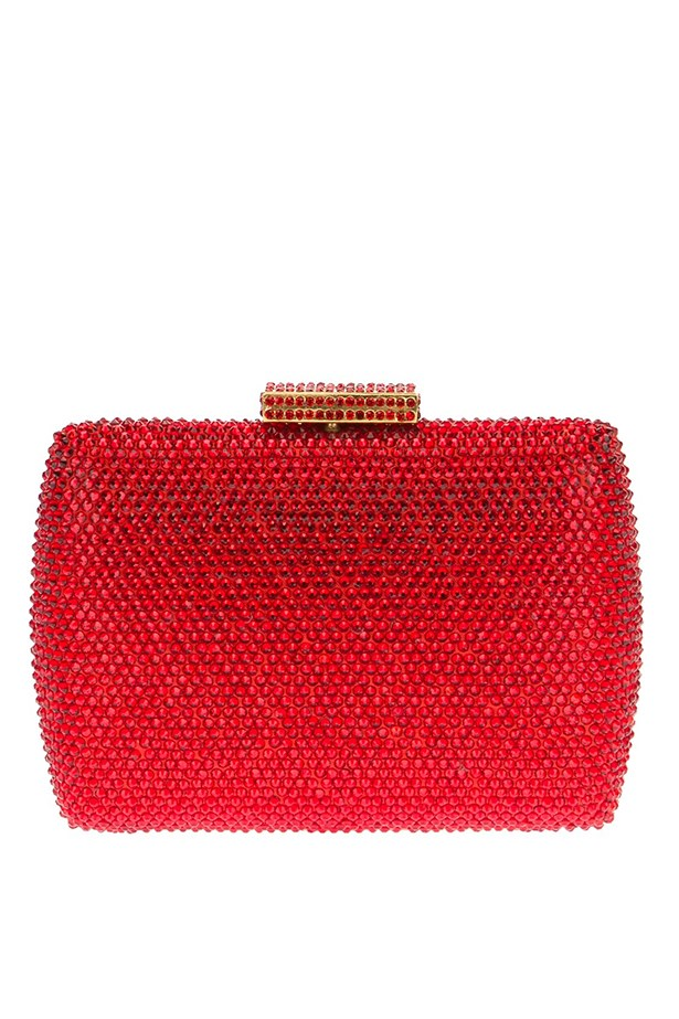 "Jewel clutch, $285, Serpui, <a href=""http://www.farfetch.com/"">farfetch.com</a>"