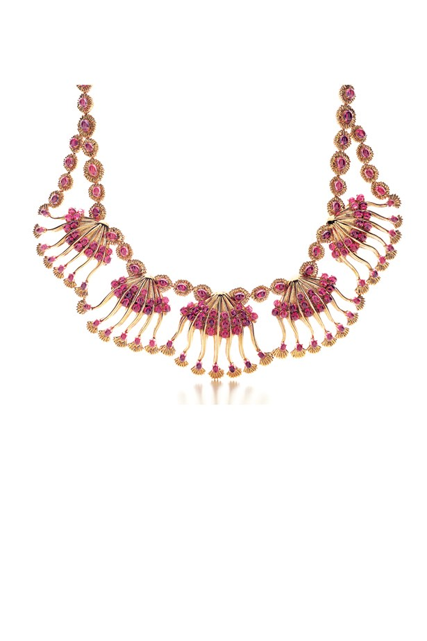 """Necklace, POA, Jean Schlumberger for Tiffany & Co, <a href=""""http://www.tiffany.com.au/"""">tiffany.com.au</a>"""