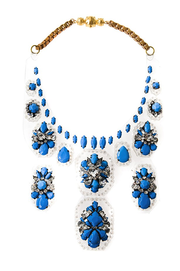 "Necklace, $1411, Shourouk, <a href=""http://www.matchesfashion.com/product/171130"">matchesfashion.com</a>"
