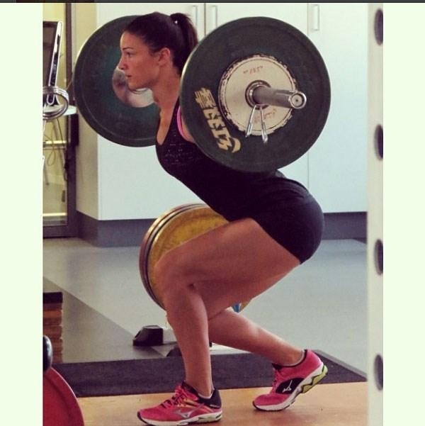 """Good gym session this morning #gym #squat#work"""