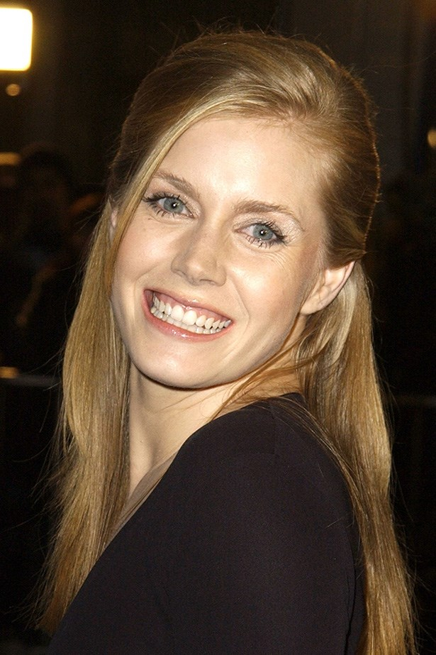 Shortly after landing her first big-screen role in <em>Catch Me If You Can</em>, Adams walked the red carpet, fresh faced, and strawberry blonde.