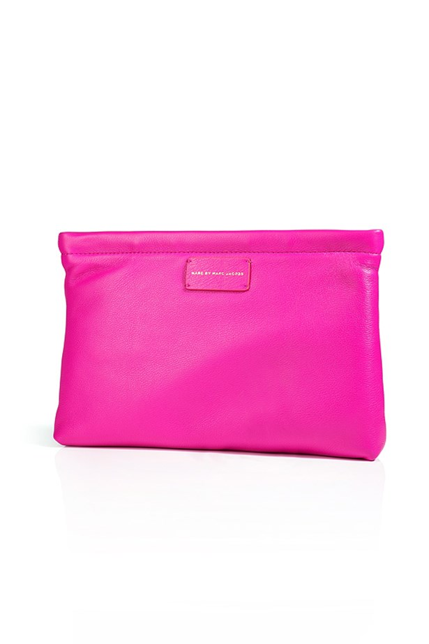 "Clutch, $338, Marc by Marc Jacobs, <a href=""http://www.stylebop.com/au/product_details.php?id=497857"">stylebop.com</a>"