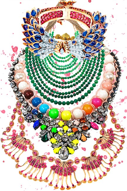 Enhance any outfit with statement jewellery this season.