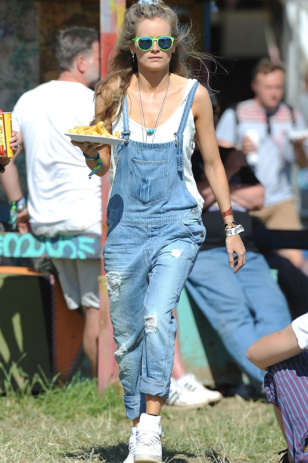 """<p><strong>Cressida Bonas</strong></p> <p>Dubbed the """"anti-Kate"""", Prince Harry's girlfriend's style is the polar opposite of our other favourite royal, Kate Middleton. Scrunchies, baggy overalls, lace-up boots, studded shorts and bright prints are all regular fixtures in her wardrobe, far from the demure choices of Kate. </p>"""