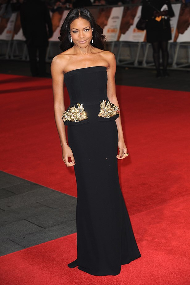 <p><strong>Naomie Harris</strong></p> <p>Constantly popping up on the best-dressed lists, the <em>Mandela: Long Walk To Freedom</em> actress is the epitome of class. With a penchant for British designers like Burberry, Vivienne Westwood and Peter Pilotto, Harris always opts for classic elegance with a hint of edge, courtesy of side splits, eye-catching prints, plunging necklines or sheer panels.</p>