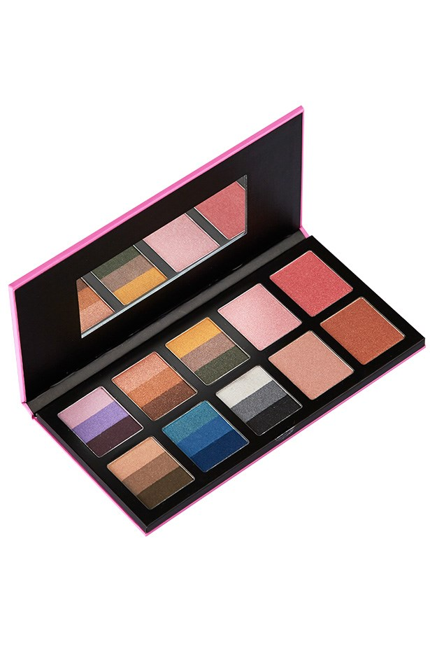 "Limited edition Face Time Palette, $49.95, Kit, <a href=""http://kitcosmetics.com.au"">kitcosmetics.com.au</a>"