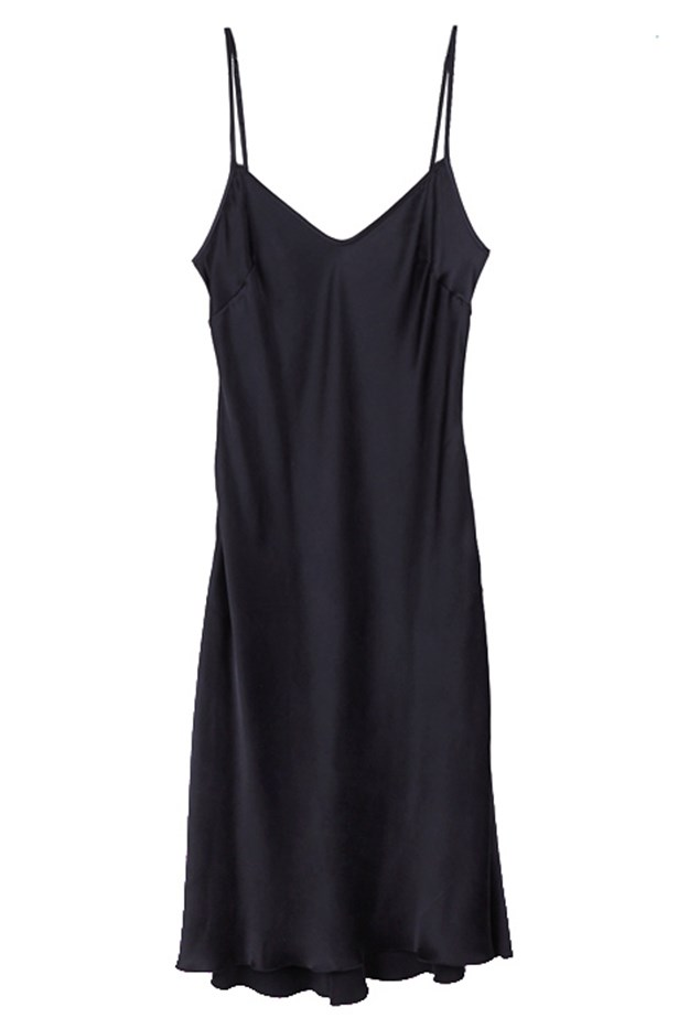 "Slip dress, $440, Organic by John Patrick, <a href=""https://www.mychameleon.com.au/silk-slip-pocket-dress-p-2236.html?typemf=women"">mychameleon.com.au</a>"
