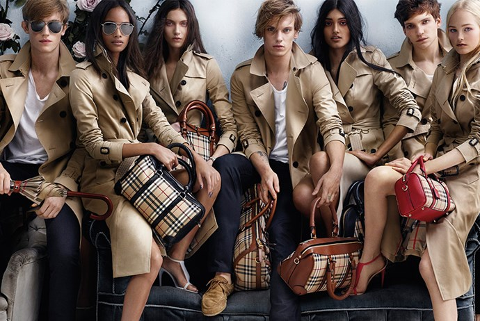Burberry releases spring summer 14 campaign