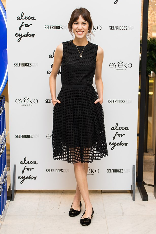 <p><strong>Most enduring it-girl</strong></p> <p><strong>Alexa Chung</strong></p> <i>Image: Wearing a Carven dress at a Selfridges launch, in London.</i>
