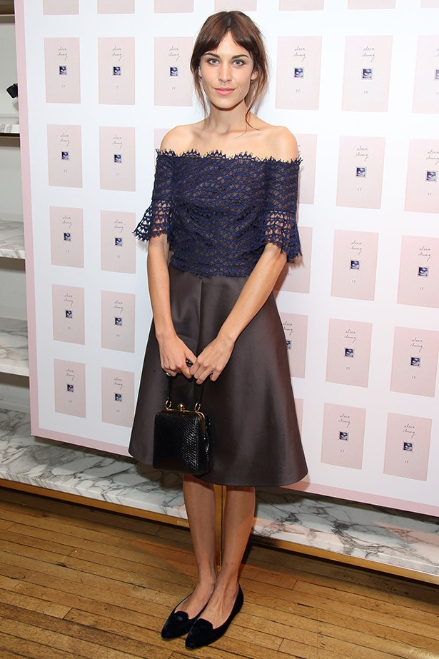 <p><strong>Most enduring it-girl</strong></p> <p><strong>Alexa Chung</strong></p> <i>Image: Wearing Carven at her book launch party, in London.</i>