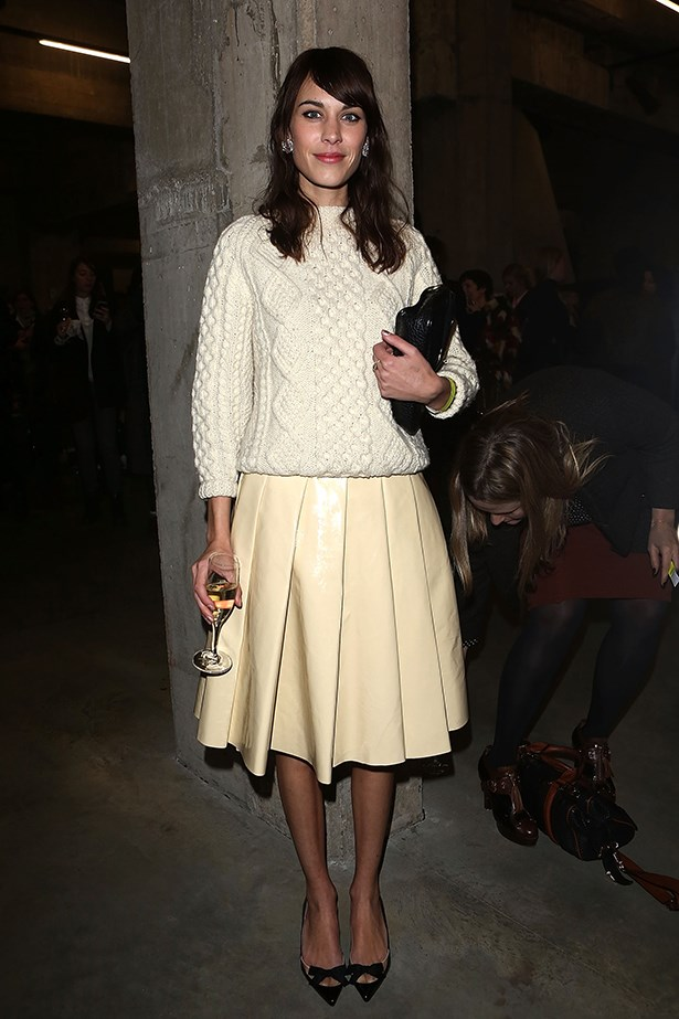 <p><strong>Most enduring it-girl</strong></p> <p><strong>Alexa Chung</strong></p> <i>Image: Wearing J.W. Anderson at London Fashion Week.</i>
