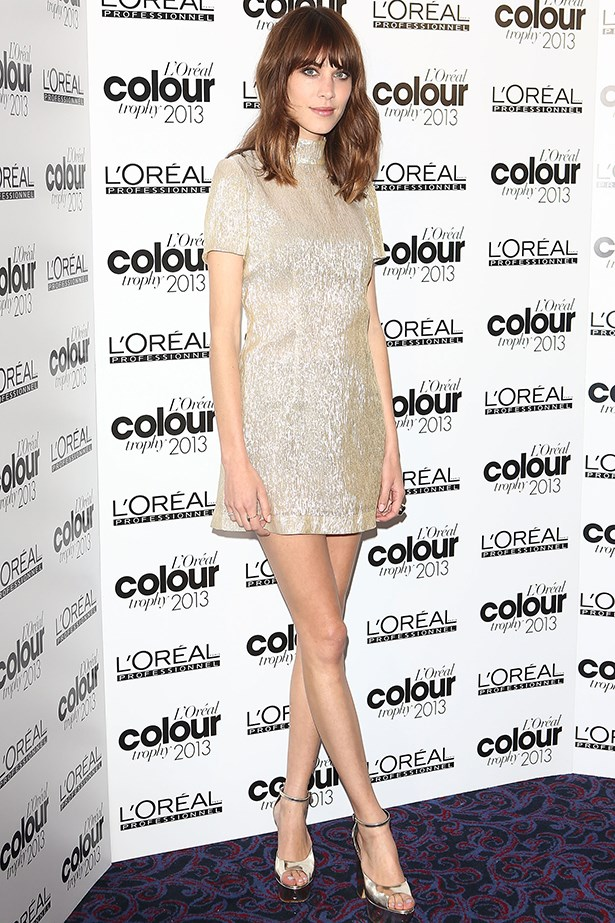<p><strong>Most enduring it-girl</strong></p> <p><strong>Alexa Chung</strong></p> <i>Image: Wearing Bella Freud at the L'Oreal Colour Trophy Awards.</i>