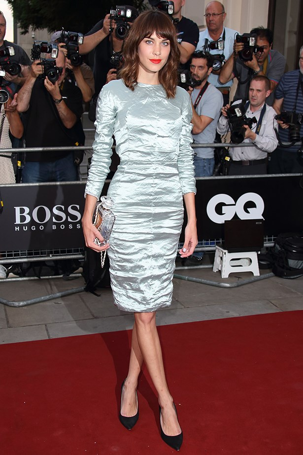 <p><strong>Most enduring it-girl</strong></p> <p><strong>Alexa Chung</strong></p> <i>Image: Wearing Carven at the GQ Men of the Year Awards.</i>