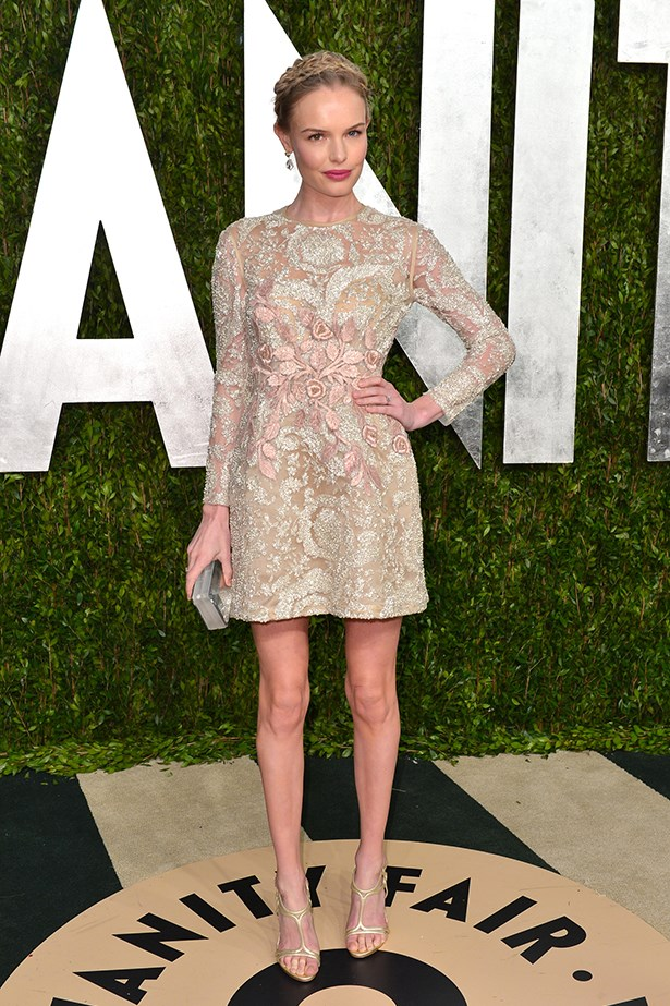 <p><strong>Best edit from the runway</strong></p> <p><strong>Kate Bosworth</strong></p> <i>Image: Wearing Giambattista Valli at the Vanity Fair Oscar party.</i>