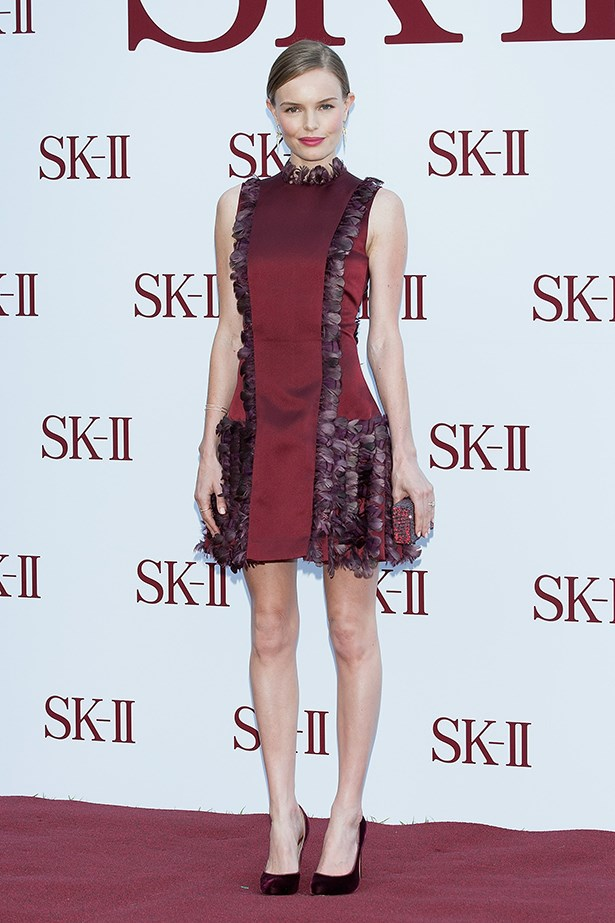 <p><strong>Best edit from the runway</strong></p> <p><strong>Kate Bosworth</strong></p> <i>Image: Wearing Christopher Kane at an SK-II event.</i>