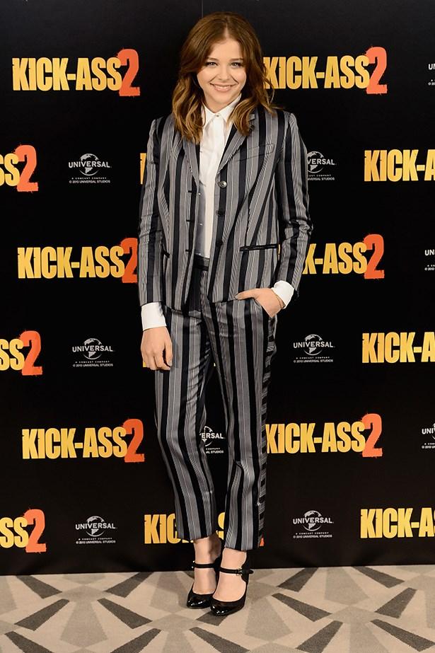 <p><strong>Teen choice award</strong></p> <p><strong>Chloë Grace Moretz</strong></p> <i>Image: Wearing Viktor & Rolf at a </i>Kick-Ass 2<i> photo-call.</i>